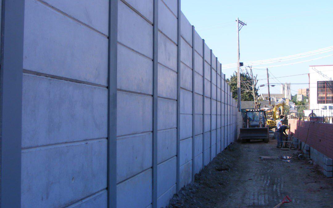 CVS Retaining Wall