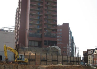 Children's Hospital Temporary Shoring